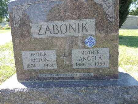 ZABONIK, ANTON - Franklin County, Ohio | ANTON ZABONIK - Ohio Gravestone Photos