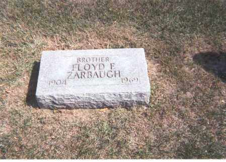 ZARBAUGH, FLOYD F. - Franklin County, Ohio | FLOYD F. ZARBAUGH - Ohio Gravestone Photos