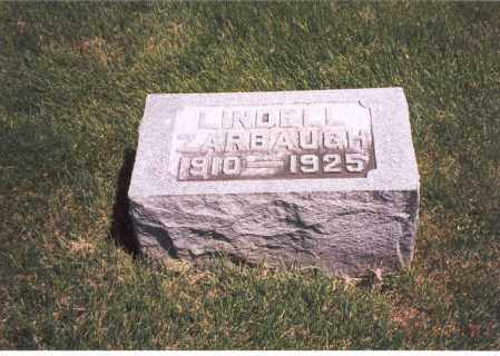 ZARBAUGH, LINDELL - Franklin County, Ohio | LINDELL ZARBAUGH - Ohio Gravestone Photos