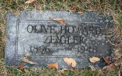 ZEIGLER, OLIVE - Franklin County, Ohio | OLIVE ZEIGLER - Ohio Gravestone Photos