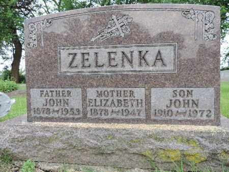 ZELENKA, ELIZABETH - Franklin County, Ohio | ELIZABETH ZELENKA - Ohio Gravestone Photos