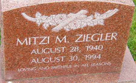 ZIEGLER, MITZI - Franklin County, Ohio | MITZI ZIEGLER - Ohio Gravestone Photos