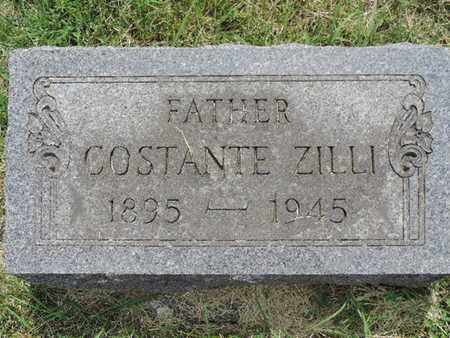 ZILLI, COSTANTE - Franklin County, Ohio | COSTANTE ZILLI - Ohio Gravestone Photos