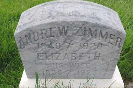 ZIMMER, ELIZABETH - Franklin County, Ohio | ELIZABETH ZIMMER - Ohio Gravestone Photos