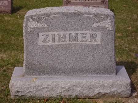 ZIMMER FAMILY, MONUMENT - Franklin County, Ohio | MONUMENT ZIMMER FAMILY - Ohio Gravestone Photos