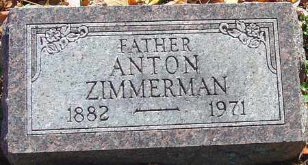 ZIMMERMAN, ANTON - Franklin County, Ohio | ANTON ZIMMERMAN - Ohio Gravestone Photos