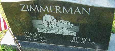 ZIMMERMAN, HARRY G - Franklin County, Ohio | HARRY G ZIMMERMAN - Ohio Gravestone Photos