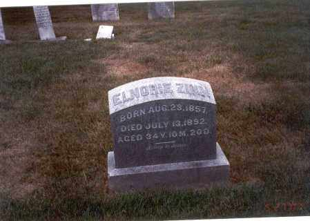 ZINN, ELNORIE - Franklin County, Ohio | ELNORIE ZINN - Ohio Gravestone Photos