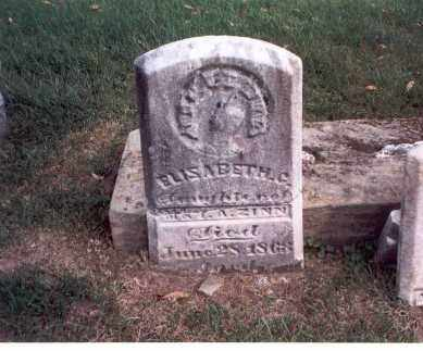 ZINN, ELISABETH C. - Franklin County, Ohio | ELISABETH C. ZINN - Ohio Gravestone Photos