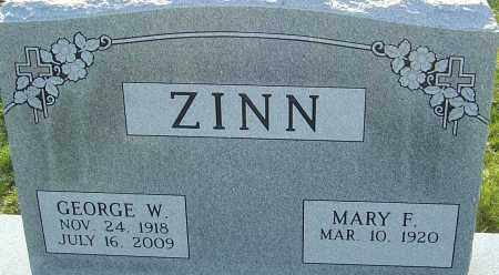 ZINN, GEORGE W - Franklin County, Ohio | GEORGE W ZINN - Ohio Gravestone Photos