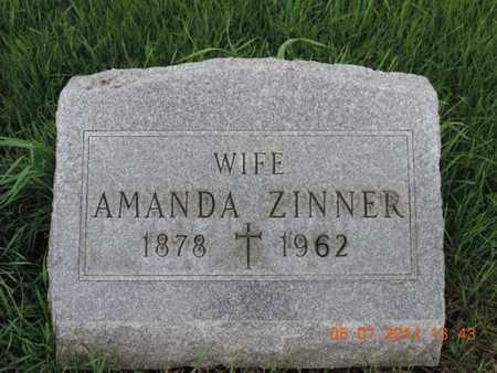 ZINNER, AMANDA - Franklin County, Ohio | AMANDA ZINNER - Ohio Gravestone Photos