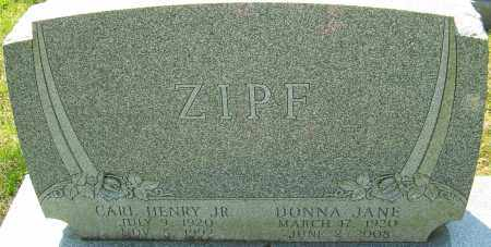 ZIPF, CARL HENRY - Franklin County, Ohio | CARL HENRY ZIPF - Ohio Gravestone Photos