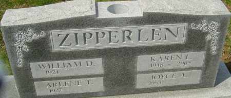 ZIPPERLEN, KAREN - Franklin County, Ohio | KAREN ZIPPERLEN - Ohio Gravestone Photos