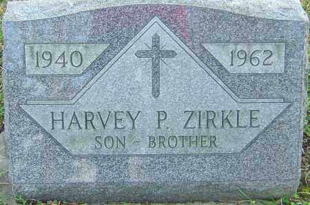 ZIRKLE, HARVEY - Franklin County, Ohio | HARVEY ZIRKLE - Ohio Gravestone Photos