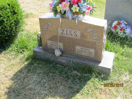 ZISS, JOHANN - Franklin County, Ohio | JOHANN ZISS - Ohio Gravestone Photos