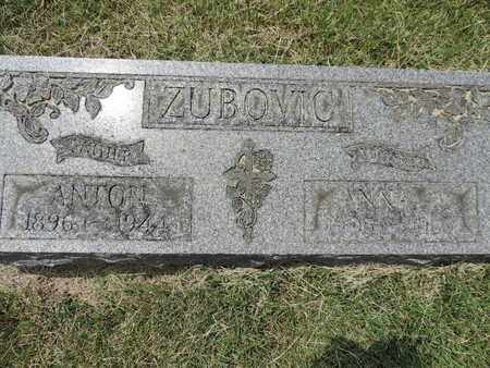 ZUBOVIC, ANNA - Franklin County, Ohio | ANNA ZUBOVIC - Ohio Gravestone Photos