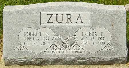 BAEUML ZURA, FREIDA - Franklin County, Ohio | FREIDA BAEUML ZURA - Ohio Gravestone Photos