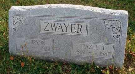 ZWAYER, G. BRYON - Franklin County, Ohio | G. BRYON ZWAYER - Ohio Gravestone Photos
