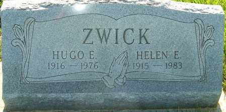 ZWICK, HUGO - Franklin County, Ohio | HUGO ZWICK - Ohio Gravestone Photos