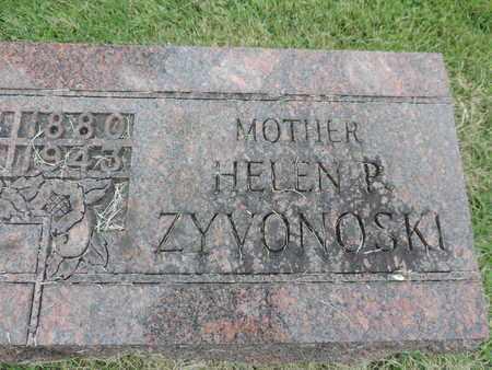 ZYVONOSKI, HELEN P. - Franklin County, Ohio | HELEN P. ZYVONOSKI - Ohio Gravestone Photos
