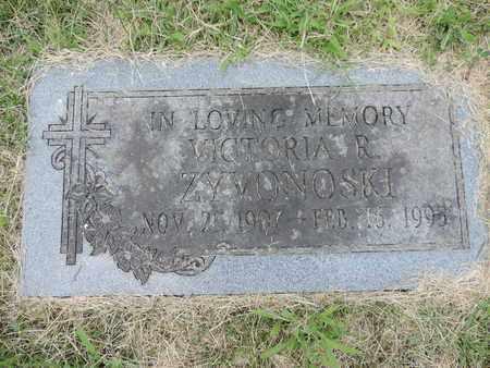 ZYVONOSKI, VICTORIA R. - Franklin County, Ohio | VICTORIA R. ZYVONOSKI - Ohio Gravestone Photos