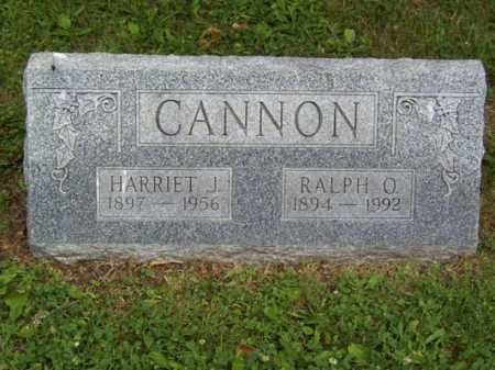 CANNON, HARRIET J. - Franklin County, Ohio | HARRIET J. CANNON - Ohio Gravestone Photos