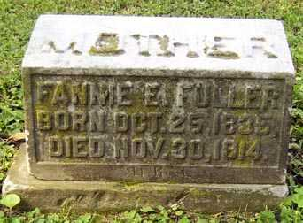 "FULLER, FRANCES ESTHER ""FANNIE"" - Franklin County, Ohio 