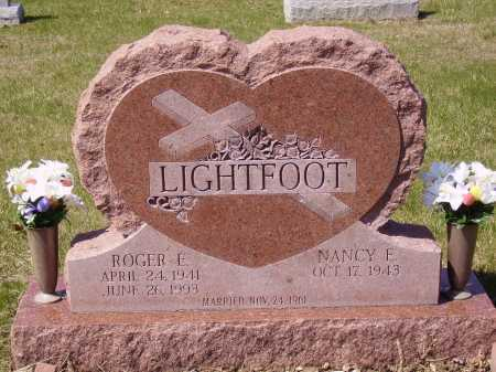 LIGHTFOOT, ROGER E. - Franklin County, Ohio | ROGER E. LIGHTFOOT - Ohio Gravestone Photos