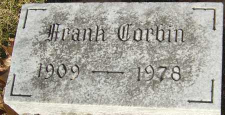 CORBIN, FRANK - Franklin County, Ohio | FRANK CORBIN - Ohio Gravestone Photos