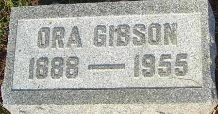 GIBSON, ORA - Franklin County, Ohio | ORA GIBSON - Ohio Gravestone Photos