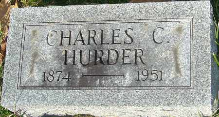 HURDER, CHARLES C - Franklin County, Ohio | CHARLES C HURDER - Ohio Gravestone Photos