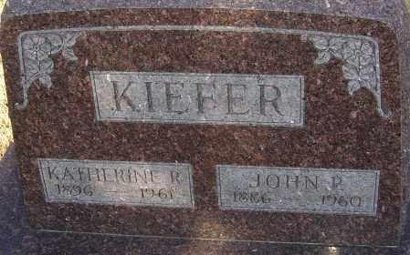 KIEFER, KATHERINE - Franklin County, Ohio | KATHERINE KIEFER - Ohio Gravestone Photos