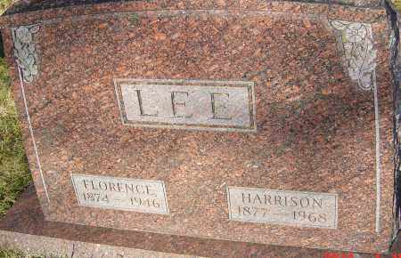 LEE, HARRISON - Franklin County, Ohio | HARRISON LEE - Ohio Gravestone Photos