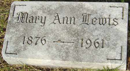 WOLFE LEWIS, MARY ANN - Franklin County, Ohio | MARY ANN WOLFE LEWIS - Ohio Gravestone Photos