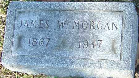 MORGAN, JAMES W - Franklin County, Ohio | JAMES W MORGAN - Ohio Gravestone Photos