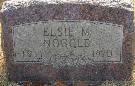 NOGGLE, ELSIE M - Franklin County, Ohio | ELSIE M NOGGLE - Ohio Gravestone Photos