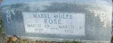 ROSE, MABEL - Franklin County, Ohio | MABEL ROSE - Ohio Gravestone Photos