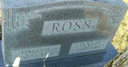 ROSS, HARRY E - Franklin County, Ohio | HARRY E ROSS - Ohio Gravestone Photos