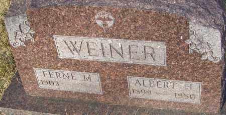 WEINER, FERNE - Franklin County, Ohio | FERNE WEINER - Ohio Gravestone Photos