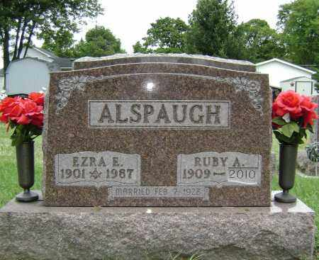 ALSPAUGH, EZRA E, - Fulton County, Ohio | EZRA E, ALSPAUGH - Ohio Gravestone Photos