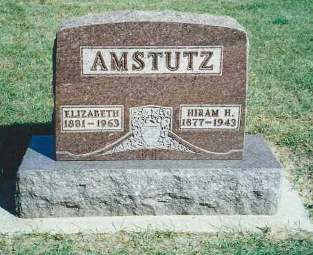 AMSTUTZ, (REV) HIRAM H. - Fulton County, Ohio | (REV) HIRAM H. AMSTUTZ - Ohio Gravestone Photos