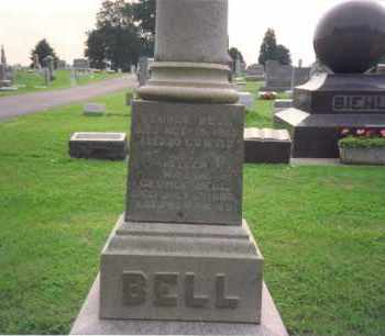 LAWRENCE BELL, HELEN - Fulton County, Ohio | HELEN LAWRENCE BELL - Ohio Gravestone Photos