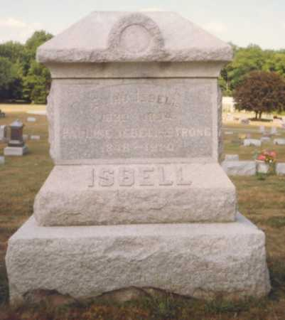 ISBELL, ELIHU - Fulton County, Ohio | ELIHU ISBELL - Ohio Gravestone Photos