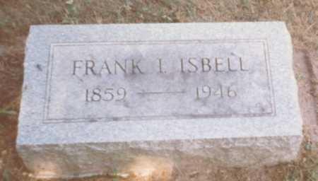 ISBELL, FRANK I. - Fulton County, Ohio | FRANK I. ISBELL - Ohio Gravestone Photos