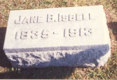 ISBELL, JANE B. - Fulton County, Ohio | JANE B. ISBELL - Ohio Gravestone Photos