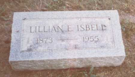 ISBELL, LILLIAN E. - Fulton County, Ohio | LILLIAN E. ISBELL - Ohio Gravestone Photos