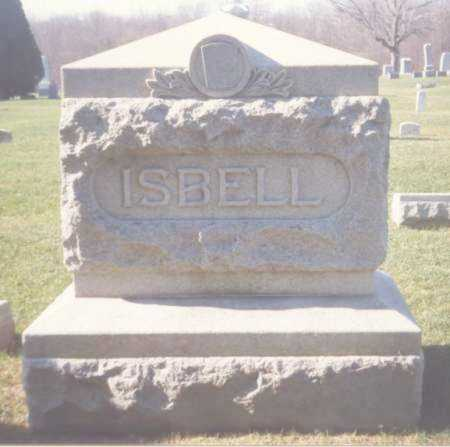 ISBELL, MONUMENT - Fulton County, Ohio | MONUMENT ISBELL - Ohio Gravestone Photos