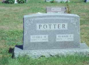 POTTER, BURNIE FORD - Fulton County, Ohio | BURNIE FORD POTTER - Ohio Gravestone Photos