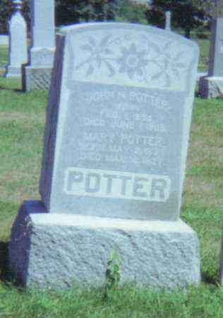 POTTER, JOHN H. - Fulton County, Ohio | JOHN H. POTTER - Ohio Gravestone Photos