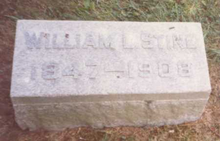 STINE, WILLIAM L. - Fulton County, Ohio | WILLIAM L. STINE - Ohio Gravestone Photos